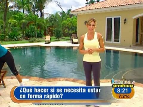 Claudia Molina te ayuda a tonificar tu cuerpo