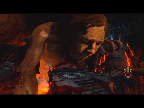 God Of War 3: Confronto com Cronos - Surpresa atras da cama de Afrodite XD +16