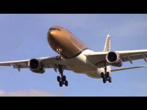 Plane Spotting London Heathrow 2012 - Arrivals RWY 27L LHR (22min.)
