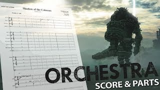 "Shadow of the Colossus: ""Symphonic Suite"" - Orchestral Cover - Score & Parts"