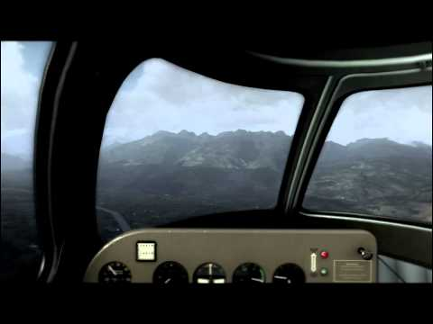 FSX RC-3 Seabee- VFR / LSZR to LOWI- part 1