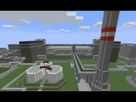 AMAZING MINECRAFT NUCLEAR POWER PLANT DNS TECHPACK SMP 1080p HD
