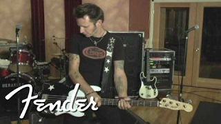 Green Day's Mike Dirnt on his signature Precision Bass | Fender