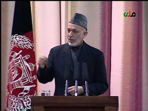 Hamid Karzai's speech February 2013