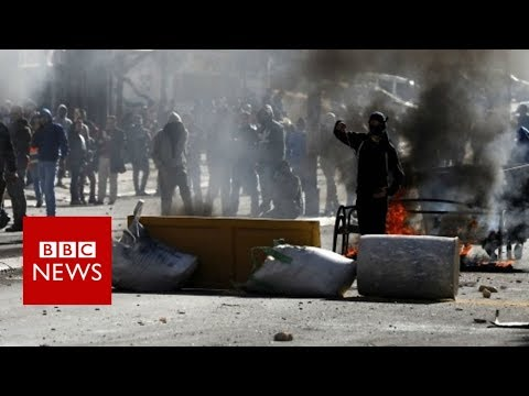 Tensions high in wake of Donald Trump's Jerusalem announcement - BBC News