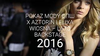QПШ: Gangsta - pokaz wiosna-lato 2016 backstage