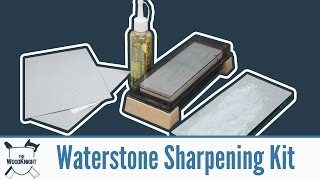 Waterstone kit/What I'm sharpening with