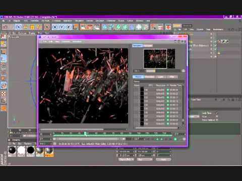 How to render and save files in Cinema 4D Demo