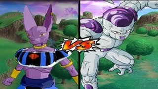Dragon Ball Z Budokai Tenkaichi 3 - Bills God of Destruction Vs Frieza (Full Power) MOD