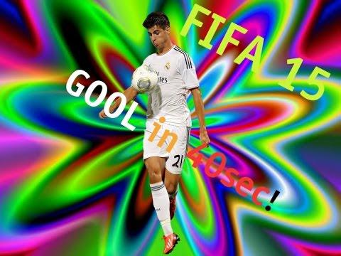 Alvaro Morata Fifa 15 Fifa 15 Gool in 40sec Morata