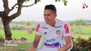 Roger Torres futbolista y jugador del Junior lo contó todo, aquí su historia.