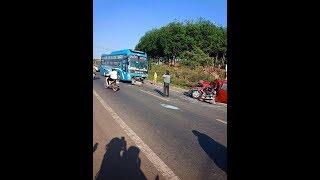 Tai nạn kinh hoàng giữa xe khách với xe oto 4 chỗ