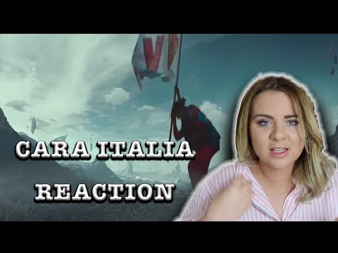 GHALI - Cara Italia (Prod. Charlie Charles) |ITALIAN  RAP REACTION|