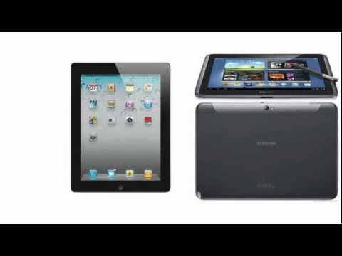 Apple iPad 4 Wi-Fi + Cellular comp. Samsung Galaxy Tablet Note 10.1 N8010, Which one to buy