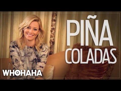 Really Important Questions with Elizabeth Banks: Piña Coladas