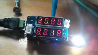 Buck Converter DC/DC PSU has Voltmeter and Ammeter and a Bug!