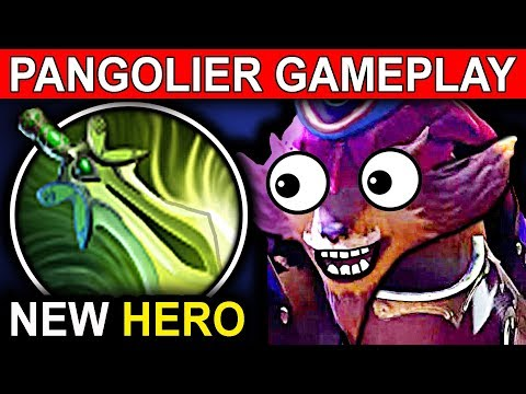 BUTTERFLY PANGOLIER - DOTA 2 PATCH 7.07 NEW META PRO GAMEPLAY