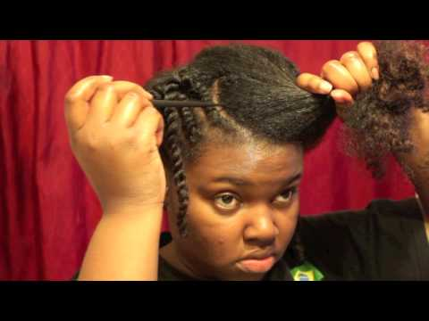 Twists with a Twirl - Protective Style tutorial