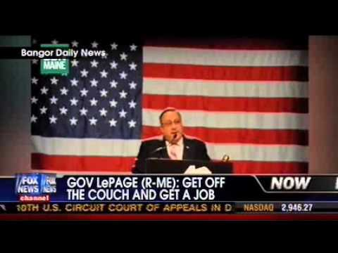 Maine Gov. Paul LePage on FOX News's Your World with Neil Cavuto