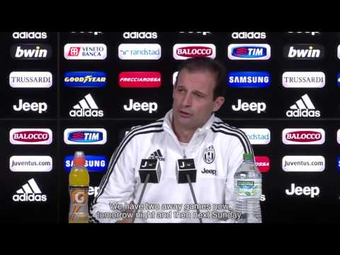 Intervista a Massimiliano Allegri  Samp - Juve