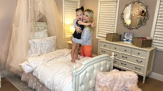 SURPRISING EVERLEIGH WITH THE CUTEST ROOM MAKEOVER!!! (SHE LOVED IT)