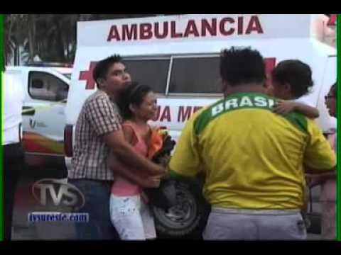Tvs Noticias.- Inesperado Accidente, Muere Aplastado, Minatitl�n, Veracruz