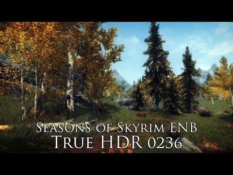 TES V - Skyrim Mods: Seasons of Skyrim ENB True HDR 0236