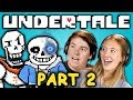 SNOW WAY OUT UNDERTALE Part 2 React Let S Plays mp3