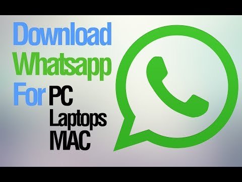 Download Whatsapp For PC Or Windows 8.1.7.XP.MAC (Best Way)
