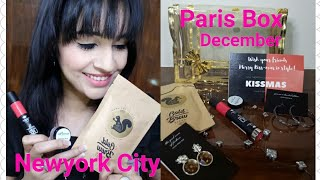 * New * Paris Box December 2017 | KissMas NewYork Edition | Discount Code | Unboxing & Review