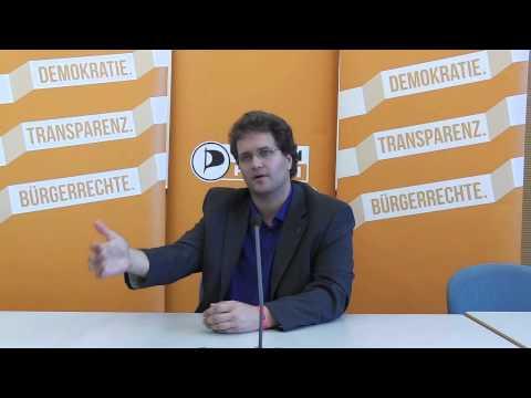 Video: Interview mit Sebastian Nerz über sein Wahl auf den 1. Listenplatz in Baden-Württemberg
