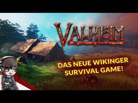 VALHEIM - Das neue Wikinger Survival Game ist da! - Gameplay German, Deutsch