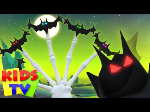 bat finger family | rhymes halloween |song 3d | nursery rhymes | Kids Tv Nursery Rhymes