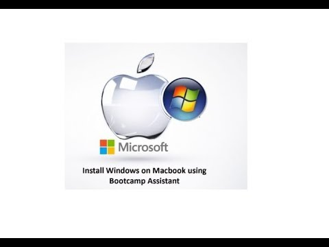Install Windows on Apple Macbook with Bootcamp, Dual OS Microsoft Windows & MacOS