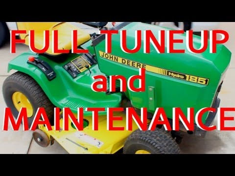 JOHN DEERE FULL TUNEUP and MAINTENANCE LAWNMOWER