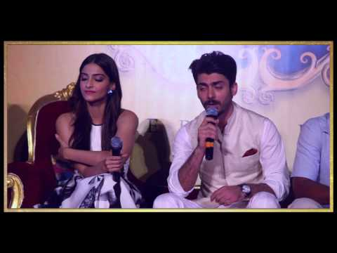 Khoobsurat Trailer Launch Event | Sonam Kapoor, Fawad Khan | Releasing - 19 September