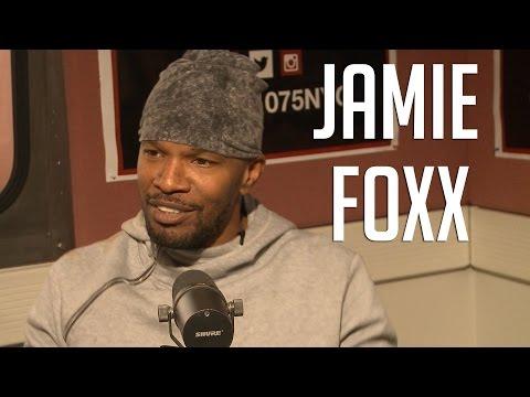 "Jamie Foxx Talks Losing Comedic Edge, New Album+ Almost Missing ""Django"""