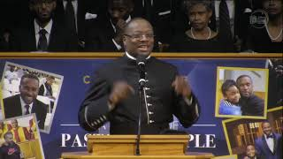 """September 30, 2018 """"Tunnel Vision"""", Rev. Dr.  Marcus D. Cosby"""