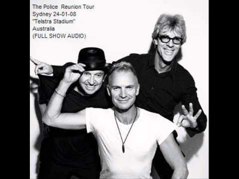 THE POLICE -  Sydney 24-01-2008