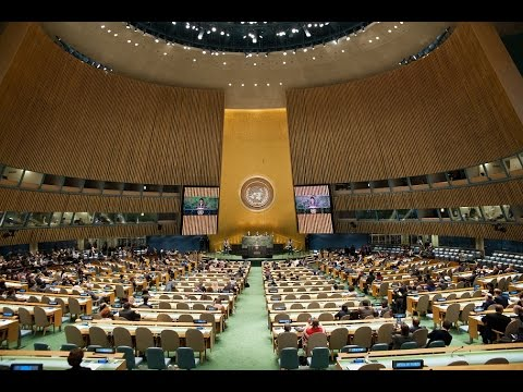 LIVE United Nations General Assembly debate