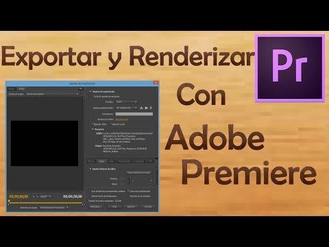 EXPORTAR Y RENDERIZAR EN ALTA CALIDAD | ADOBE PREMIERE