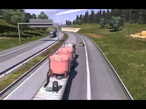 Concept #01 - Car Accident - Euro Truck Simulator 2
