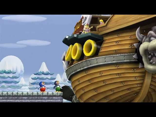 New Super Mario Bros Wii - 100% Walkthrough Co-op ITA - Parte 06 di 19