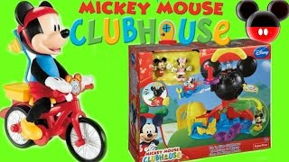 SILLY WHEELIE MICKEY AND MICKEY  MOUSE CLUBHOUSE TOYS FROM MICKEY MOUSE CLUB HOUSE VIDEOS