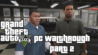 GTA 5 (PC) GT 650M / 8 GB RAM / i7-3630QM / 8 CPU Gameplay: Franklin and Lamar