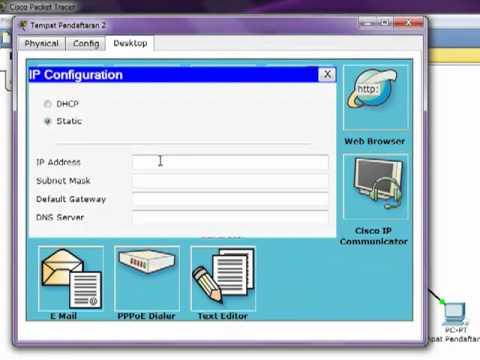Membuat Simulasi Jaringan Client Server ( Cisco Packet Tracer )