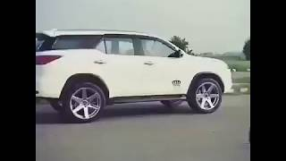 Toyota Fortuner fans car WhatsApp status New video Latest update