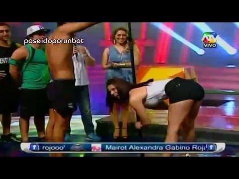 COMBATE: Stephanie Benalcazar y el Baile del Tubo 02/04/13