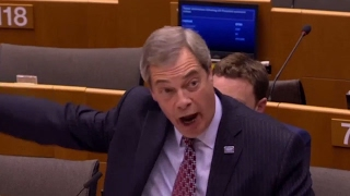 Nigel Farage EU Parliament GETS ANGRY After a Heated Argument and Defending Donald Trump EU Summit ✔