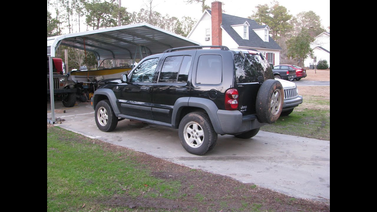 2006 Jeep Liberty Cherokee Kj New Project Youtube